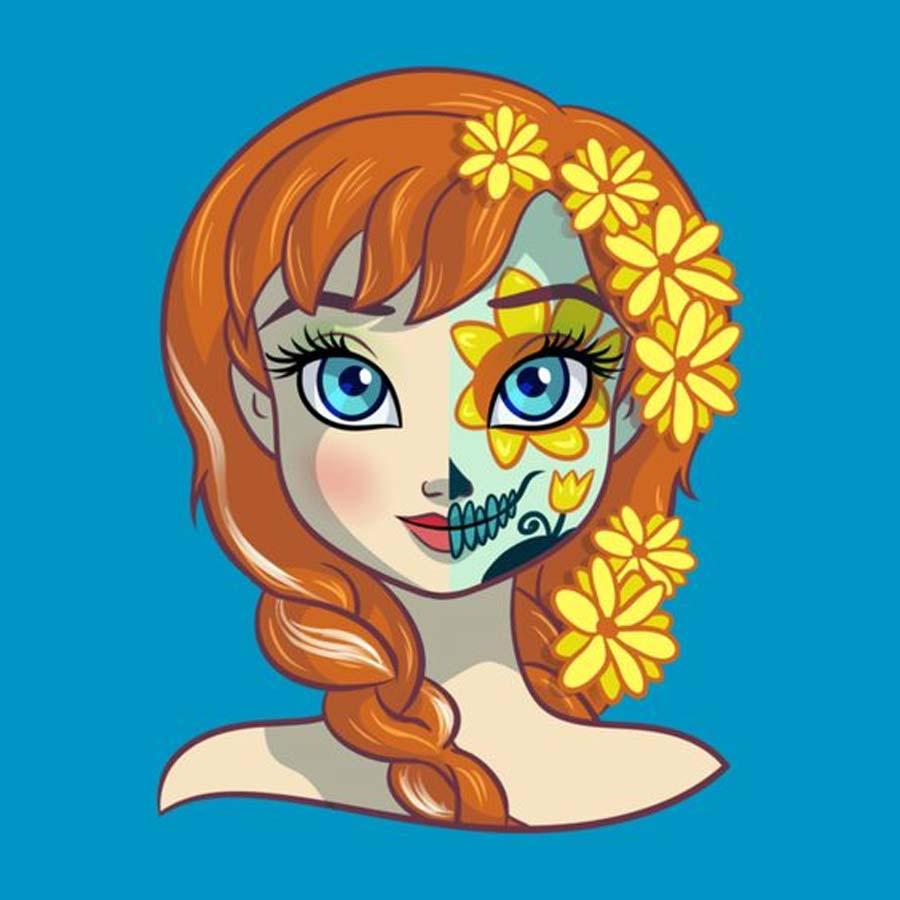 disney-ilustracoes-princesas-caveirasmexicanas-001