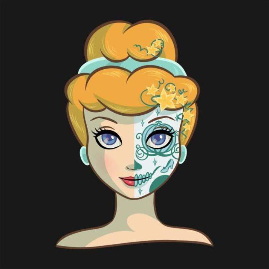 disney-ilustracoes-princesas-caveirasmexicanas-003