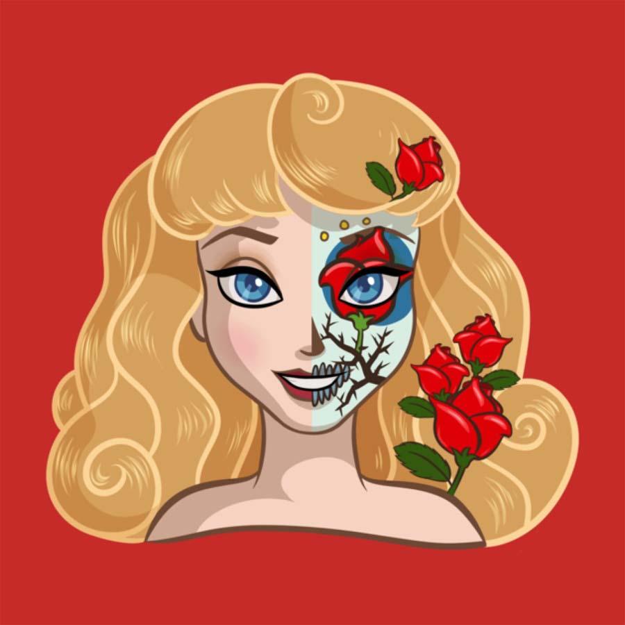 disney-ilustracoes-princesas-caveirasmexicanas-004