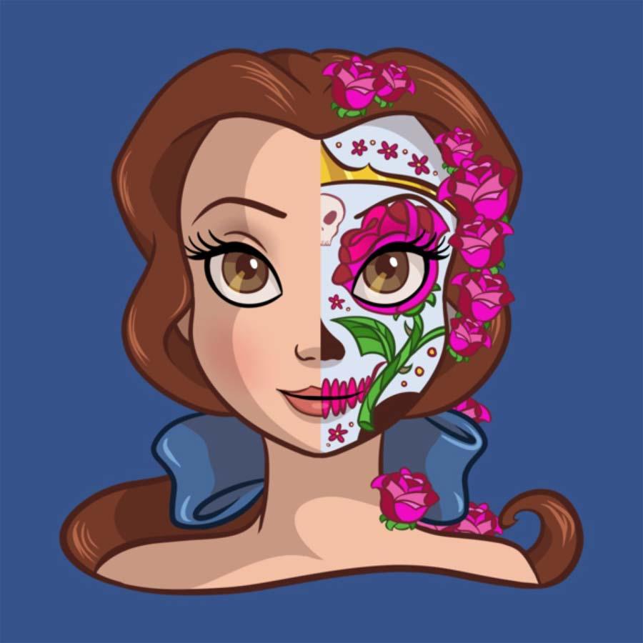 disney-ilustracoes-princesas-caveirasmexicanas-006