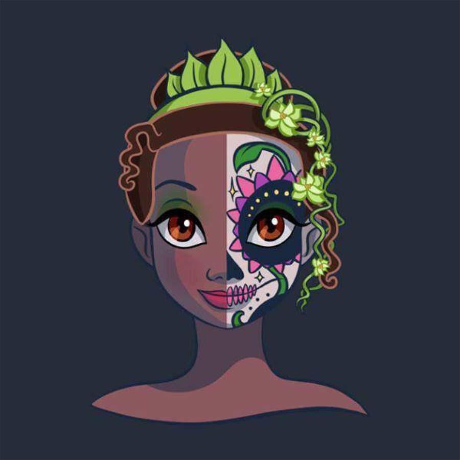 disney-ilustracoes-princesas-caveirasmexicanas-009
