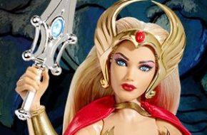 Barbie Mulher Maravilha e Barbie She-Ra