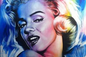 As pinturas coloridas de Jen Allen