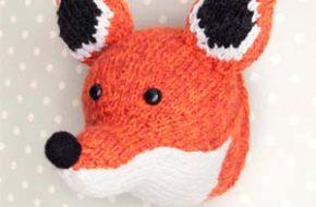 Os animais em tricô de Louise Walker