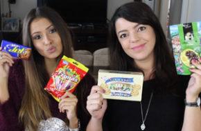 Provando doces colombianos