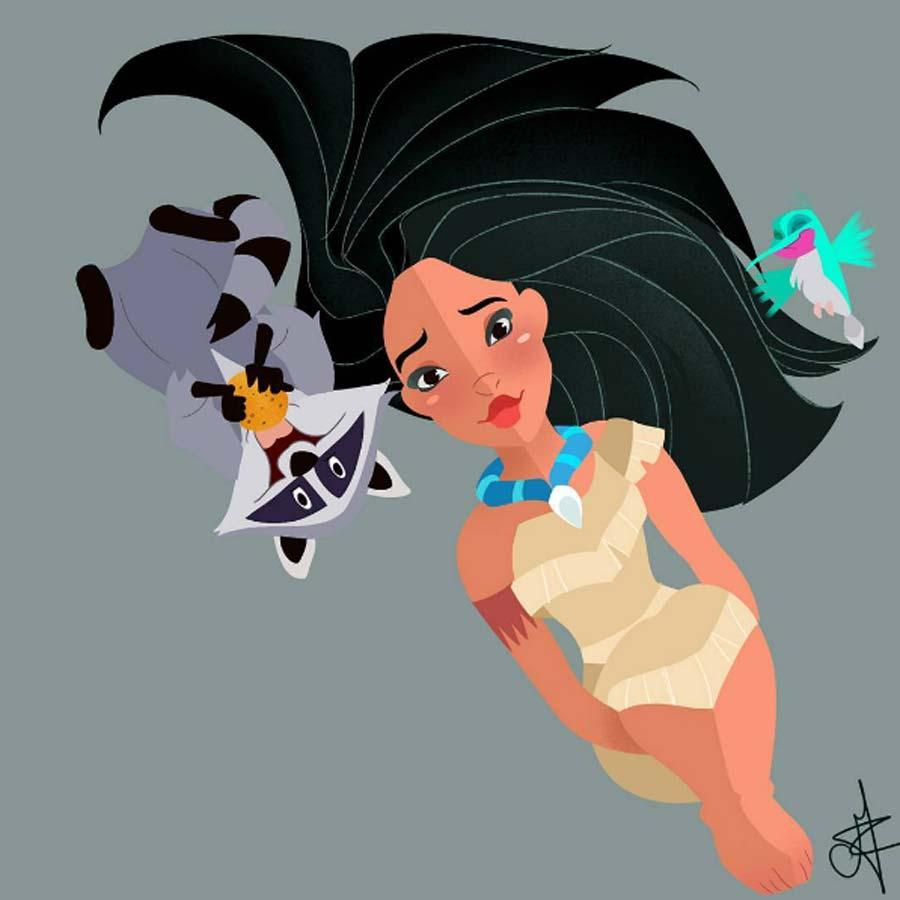 disney-ilustracao-princesasepets-010