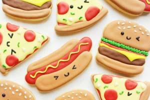 Os biscoitos fofos de Vickie Liu