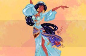 Princesas Disney na dança do ventre