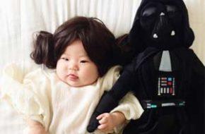 Laura Izumikawa e as fotos de sua filha com fantasias