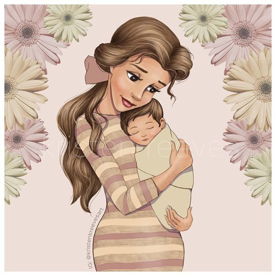 disney-ilustracao-princesasmamaes-002