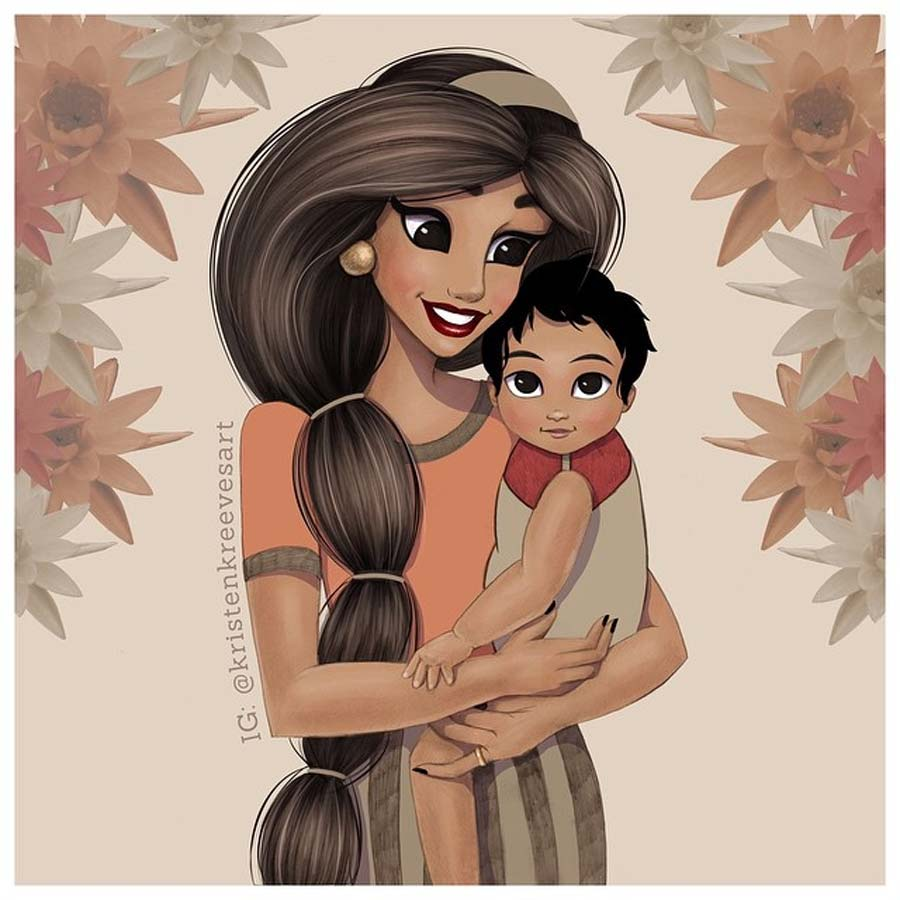 disney-ilustracao-princesasmamaes-003
