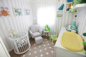 Tour pelo quarto do bebê