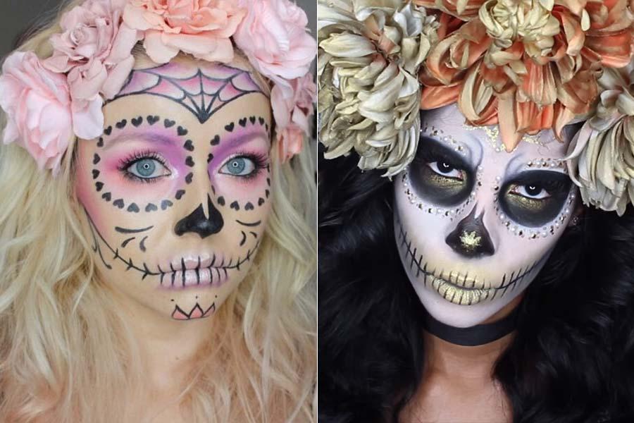 comousar-maquiagem-halloween-caveiramexicana