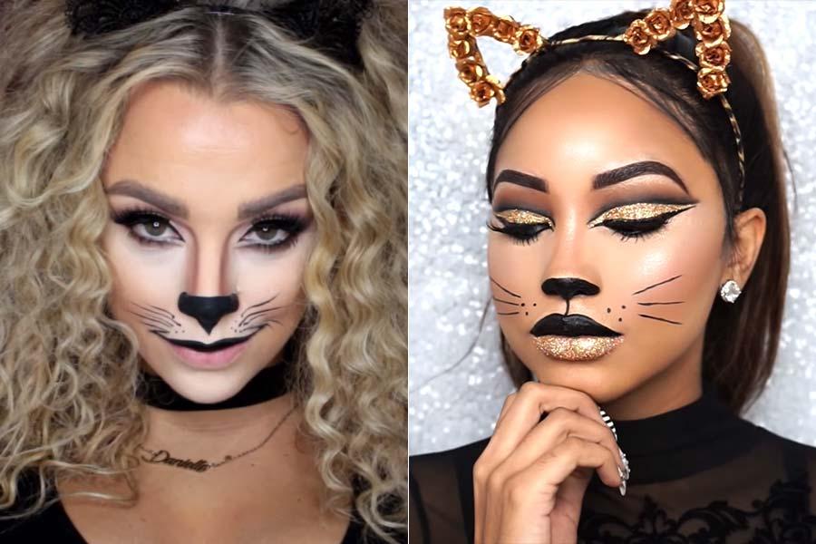 comousar-maquiagem-halloween-gatopreto