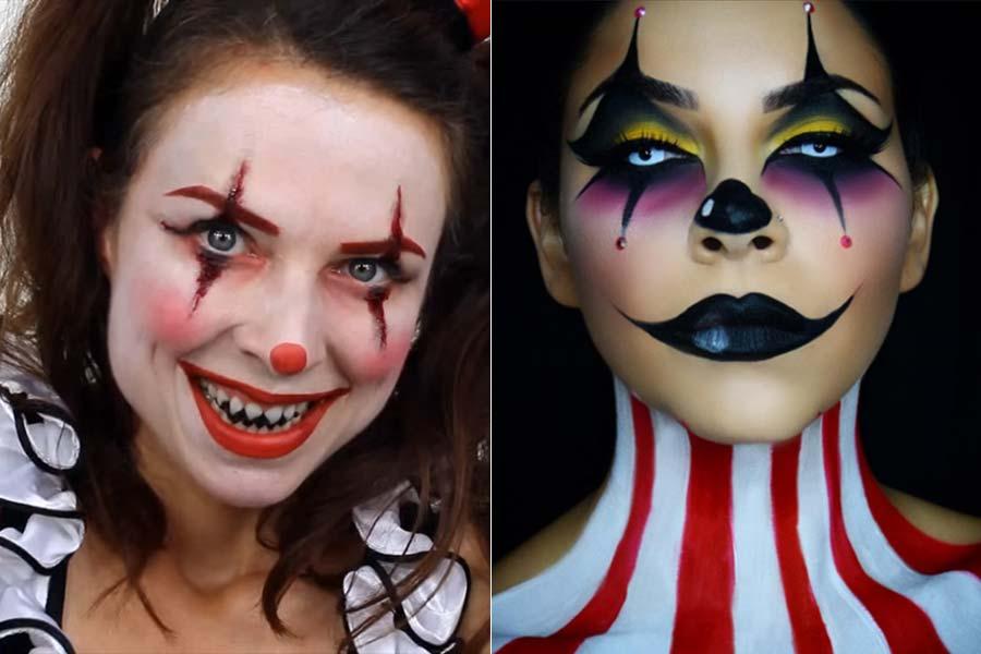 comousar-maquiagem-halloween-palhaco