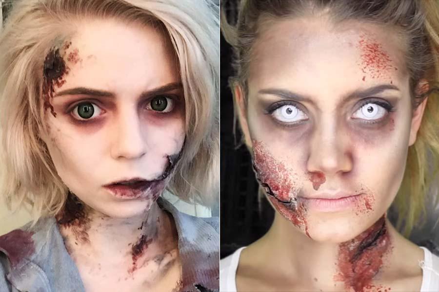 comousar-maquiagem-halloween-zumbi