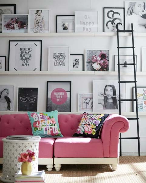 decora o sof rosa just lia por lia camargo. Black Bedroom Furniture Sets. Home Design Ideas
