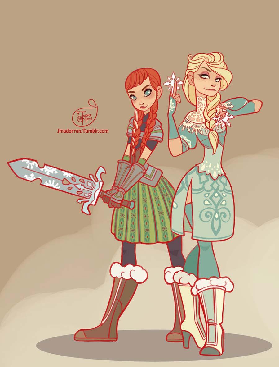 disney-ilustracao-princesasguerreiras-001