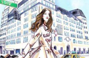 Meagan Morrison e suas ilustrações de moda e viagens
