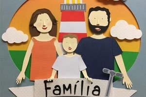 As familinhas de papel de Danielle Cavallari