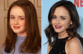 Antes e depois – Elenco de Gilmore Girls