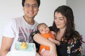 Os bolos de mesversário do Fernando