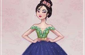 Princesas Disney no tapete vermelho