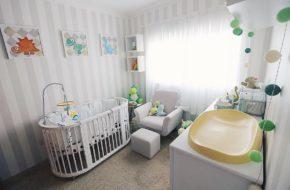 O novo quarto do bebê