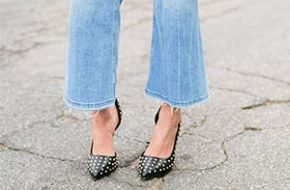 Como usar: Cropped flare jeans