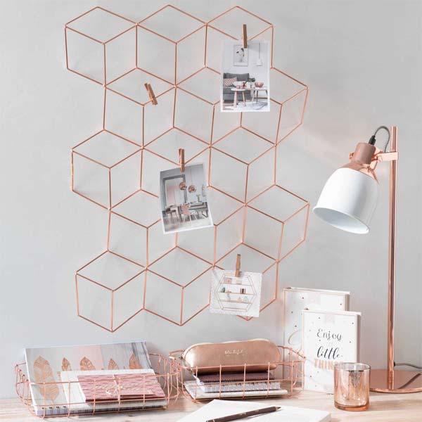 decora o rose gold just lia por lia camargo. Black Bedroom Furniture Sets. Home Design Ideas