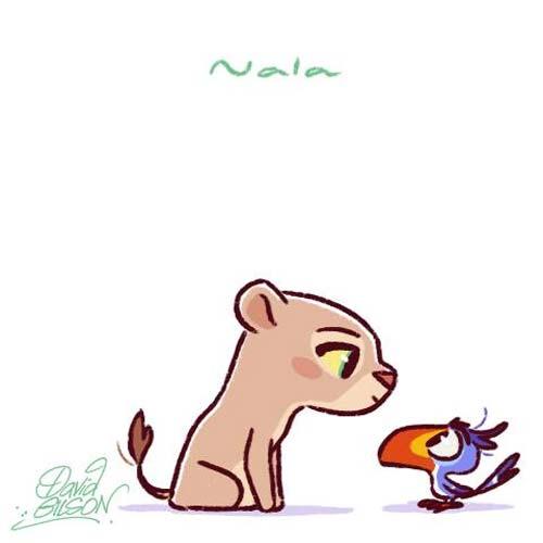 Personagens Disney e amigos em estilo chibi - Just Lia ...