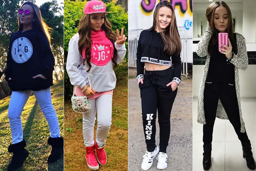 37aace22bc1ac Em eventos, Larissa usa peças jovens e estampadas, como macaquinhos e  vestidos. Nos pés, o scarpin preto básico é seu preferido, mas ela também  escolhe ...