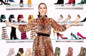 A marca de sapatos da Katy Perry