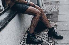 Como usar: Meia-calça arrastão