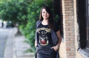 Look do dia: Camiseta de rock com estilo