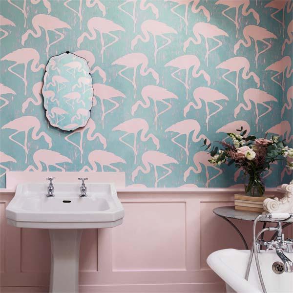 decora o flamingos just lia por lia camargo. Black Bedroom Furniture Sets. Home Design Ideas