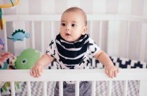 Babadores estilo bandana para bebês