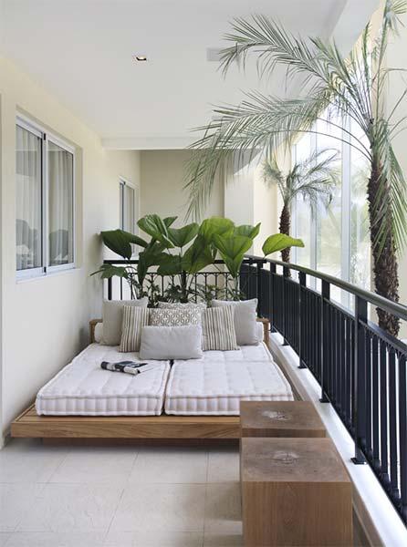 Decoraç u00e3o Varanda Just Lia Por Lia Camargo -> Decoração Para Varanda De Apartamento Simples