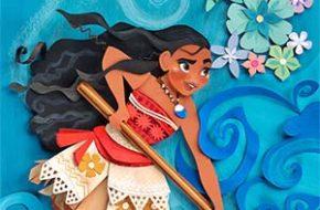 Princesas Disney em ilustrações tridimensionais