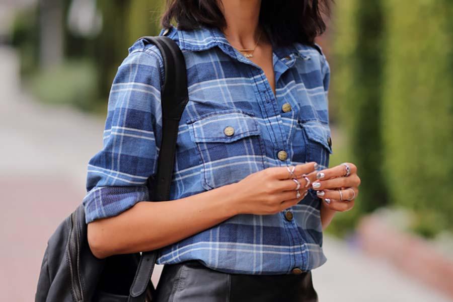 Como usar  Camisa Xadrez - Just Lia  b302a695cef27