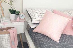 Decoração: Cinza e rosa