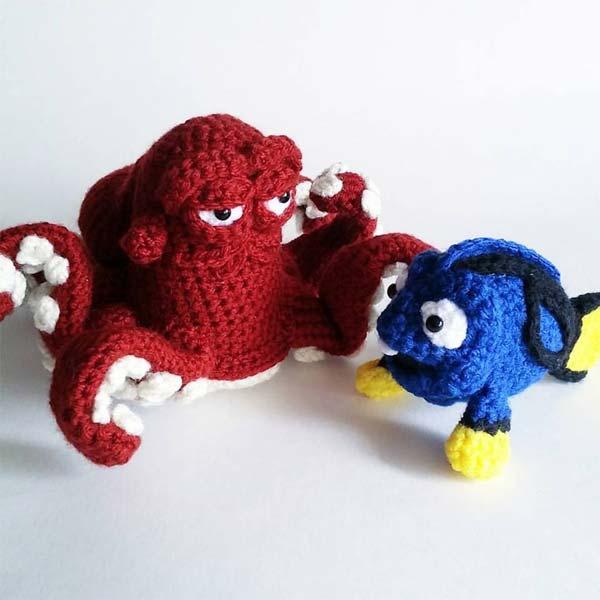 Amigurumi Princesas Disney : Bonequinhos de croche da Disney - Just Lia Por Lia Camargo
