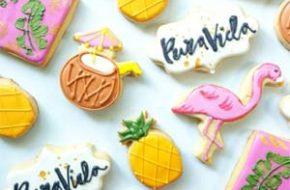 Mona Flood e seus biscoitos decorados