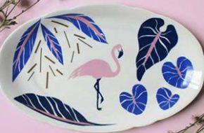 As pinturas em porcelana do Studio Pamelitas