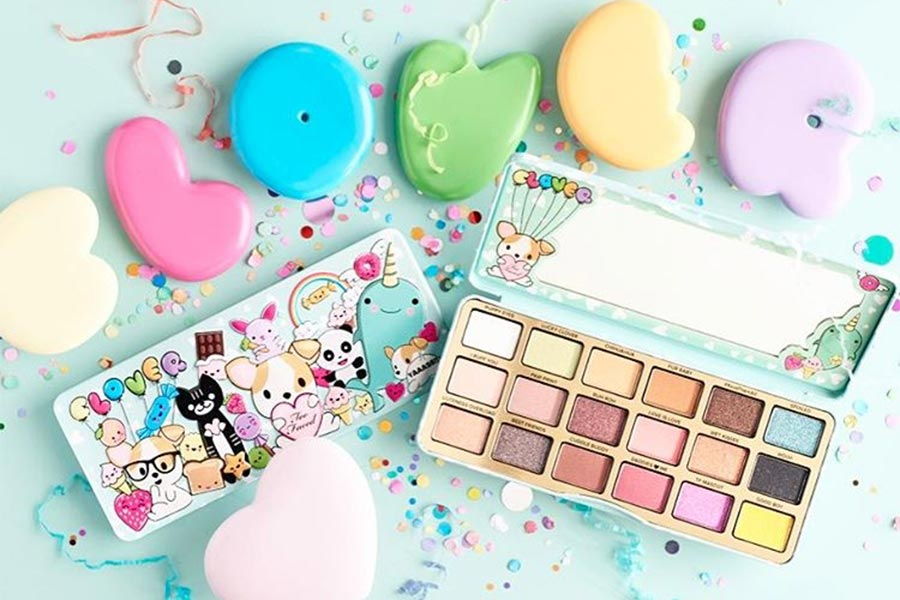 A Paleta De Sombras Mais Fofa Da Too Faced Just Lia Por Lia Camargo