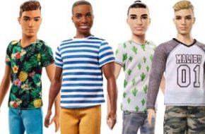 Os novos tipos de corpo do Ken