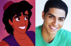 "Os atores do live action ""Aladdin"" da Disney"
