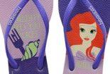 Havaianas das Princesas Disney com frases divertidas