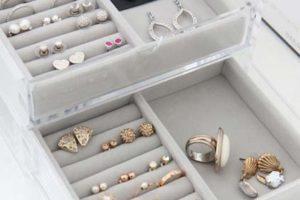 Decoração: Organizadores de bijuteria