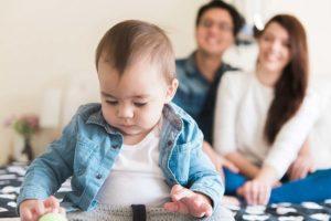 Ensaio de 1 ano do bebê
